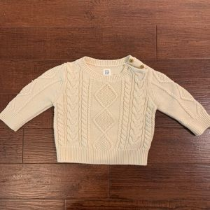Baby Cable-Knit Sweater 6-12months